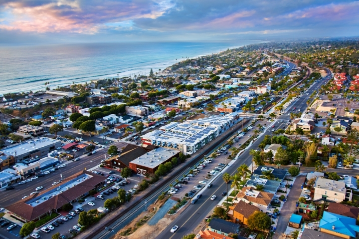 Encinitas Real Estate aerial view