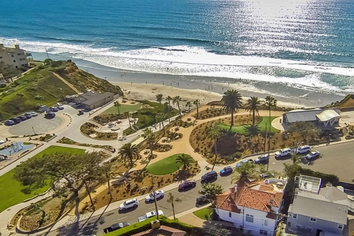 Solana Beach Real Estate Fletcher Cove aerial