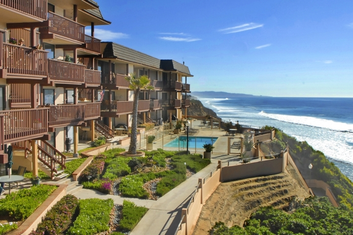 Solana Beach Real Estate bluffside condos