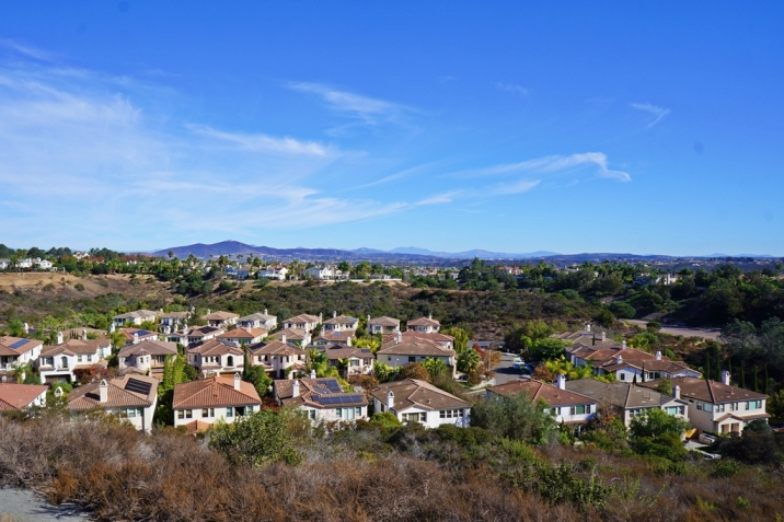 Carmel Valley Real Estate view over Vista Santa Barbara