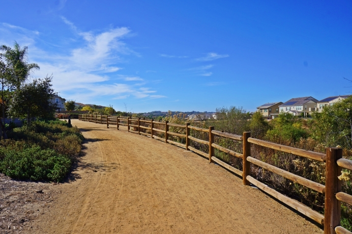 Pacific Highlands Ranch Real Estate walking path