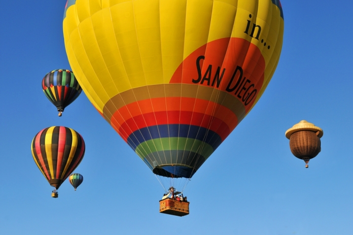 Carmel Valley Real Estate Hot Air Balloons