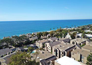 Del Mar ocean view condo